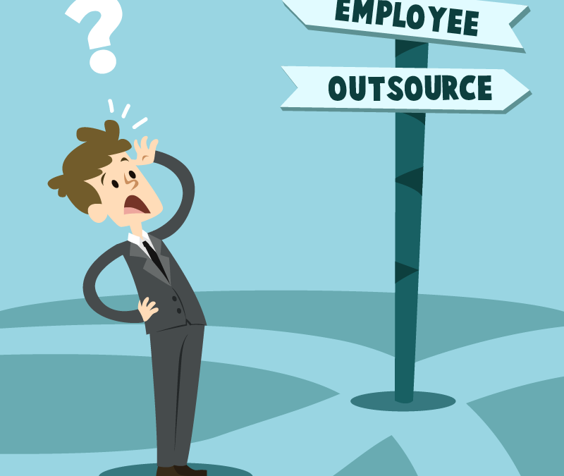 Should I employ an accountant, or outsource?