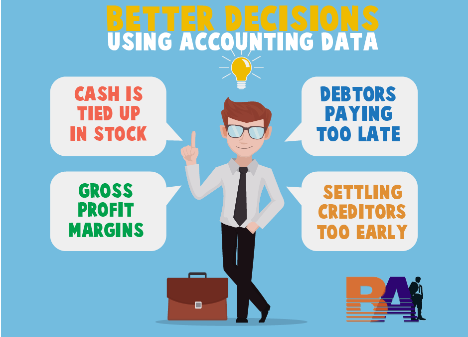 How to use accounting data to make better business decisions